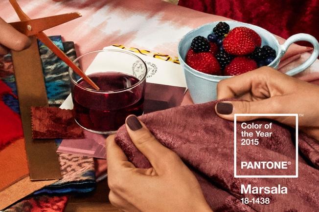 Marsala - a cor de 2015  imagem: divulgação/ Pantone