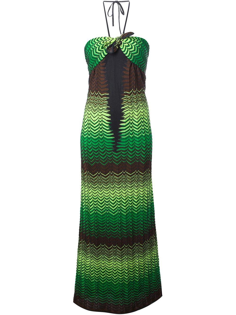 Vestido longo Missoni R$2.702,00