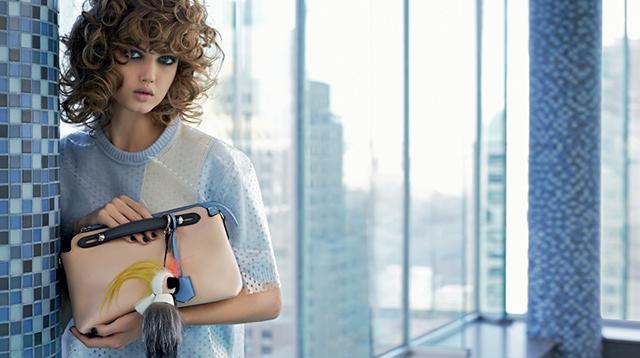 Fendi Verão 2015 imagem: divulgação/ Karl Lagerfeld