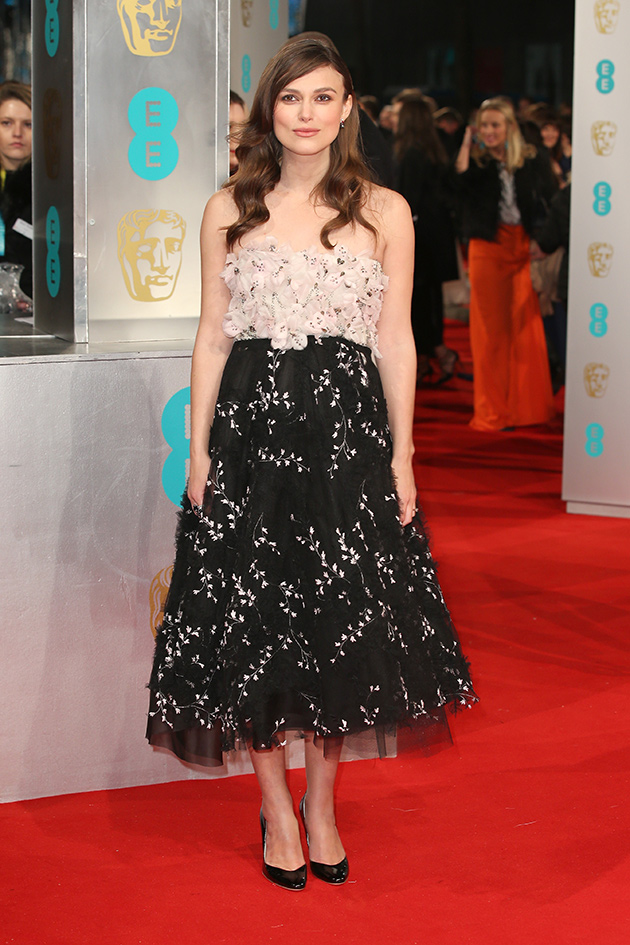2- Keira Knightley - Giambattista Valli foto: getty images