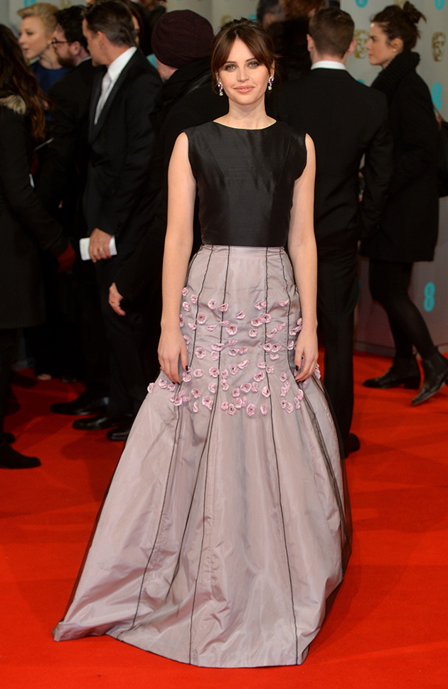 7- Felicity Jones - Dior foto: Getty Images