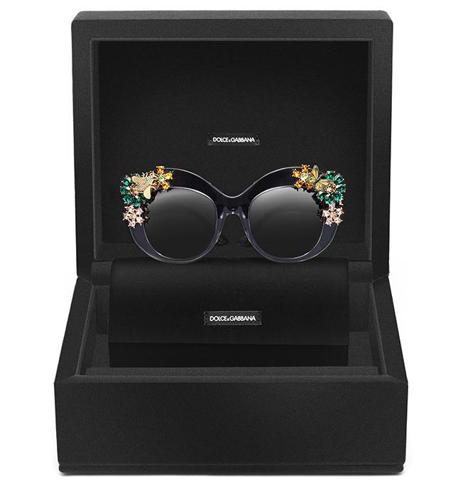 Embalagem-Luxo dos óculos de sol de Verão 2015 - Dolce & Gabbana
