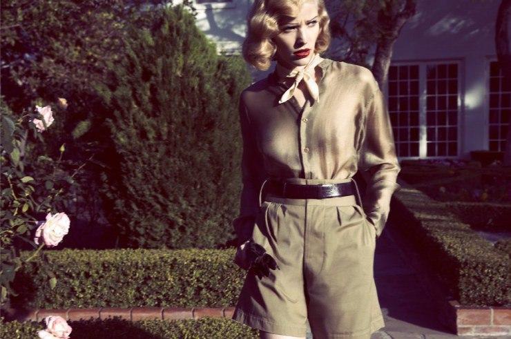 foto: Camilla Akrans - Vogue Itália Março 2015