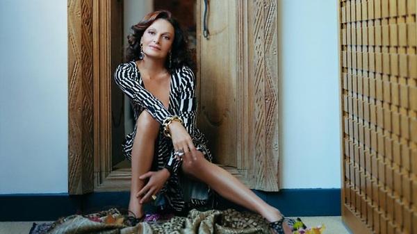 Diane Von Furstenberg imagem: reprodução