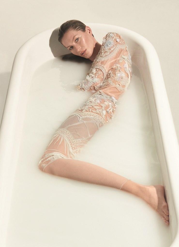 Gisele Bündchen na Vogue Brasil de Maio foto: Inez & Vinoodh