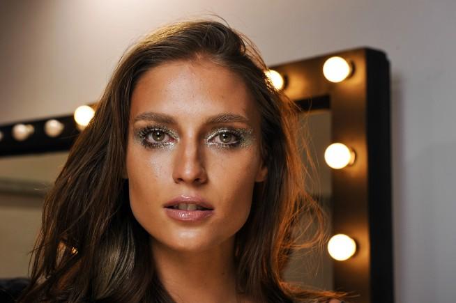 Make up Triya - desfile Verão 2016 - SPFW foto: Ag fotosite/ Gustavo Scatena