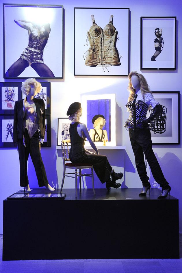 Mostra Jean Paul Gaultier foto: divulgação