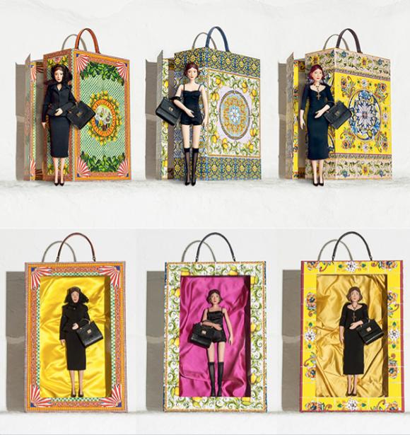 Bonecas Dolce & Gabbana  imagem: divulgação