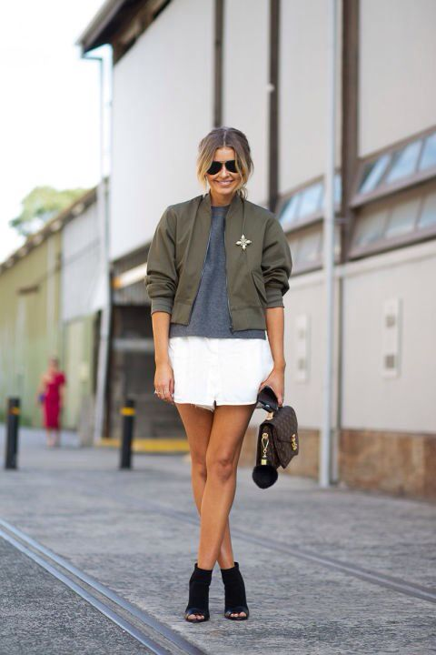 Street style - Bomber Jacket imagem: via they all hate us
