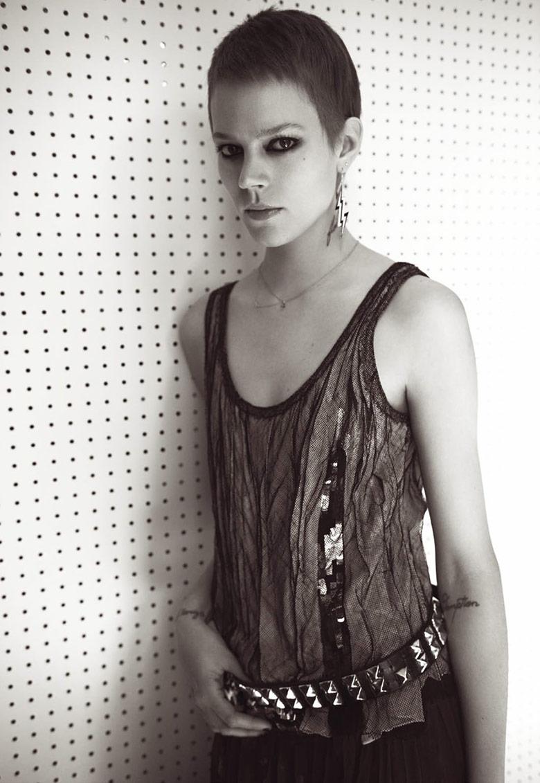 Freja Beha Erichsen - Vogue Paris Maio 2015 foto: Glen Luchford