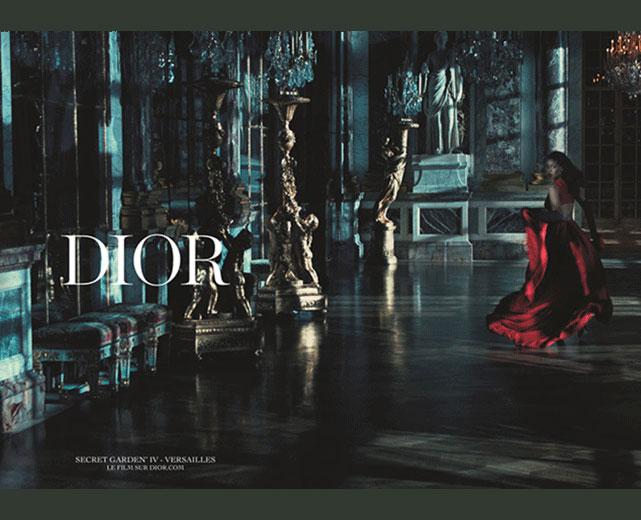 Rihanna para Dior - coleção primavera-verão 2015 imagem: Steven Klein