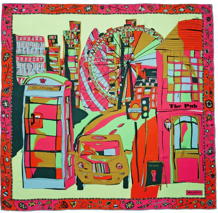 Pucci - lenço da coleção Cities of the world imagem: divulgação