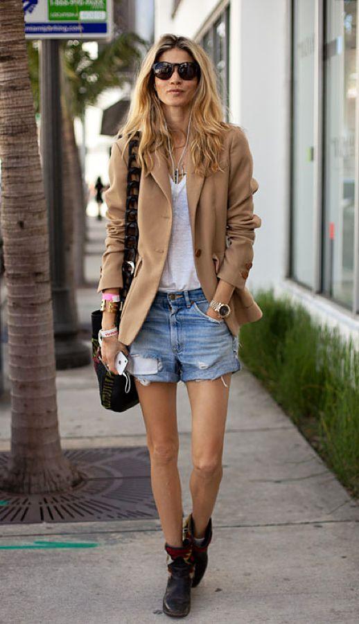 Blazer - No escritório você pode usa-lo de variadas maneiras fora dele, com jeans, é uma linda composição imagem: via pinterest