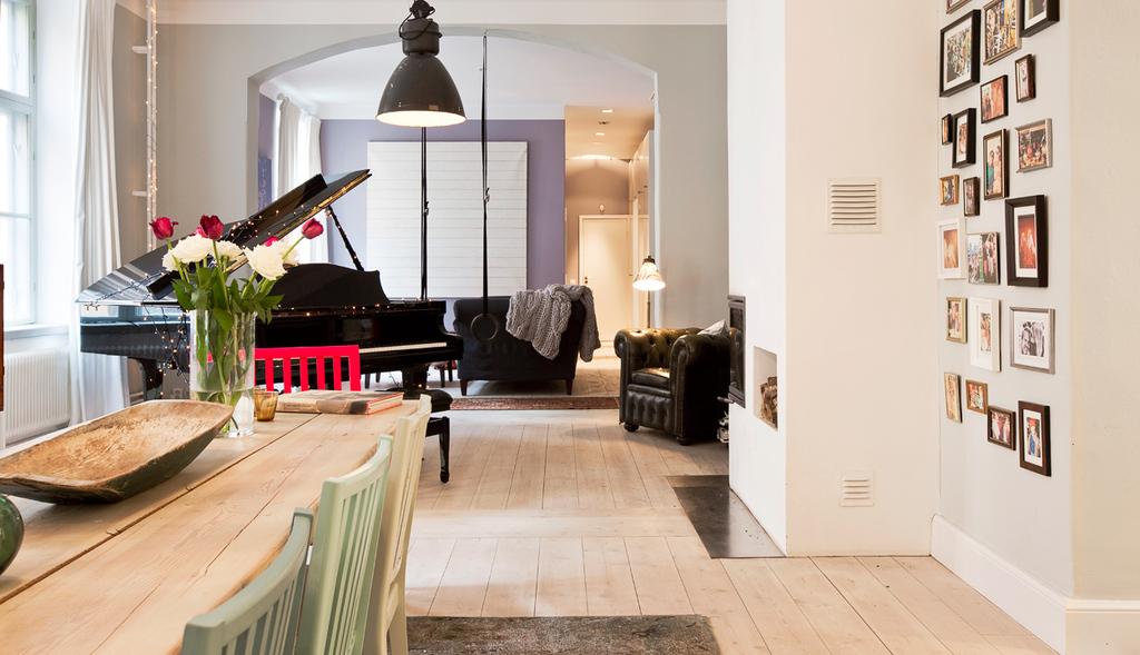 Decor inspiração - apartamento em Estocolmo imagem: via Wrede