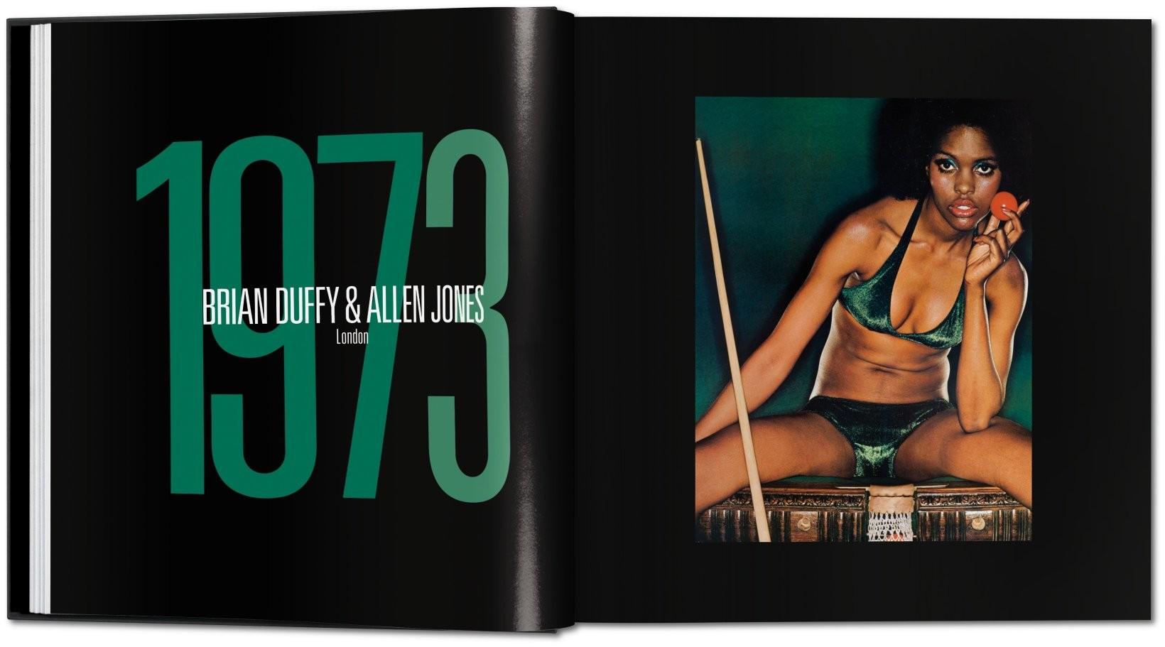 Imagens do Livro - retrospectiva dos 50 anos do calendário Pirelli imagem: divulgação