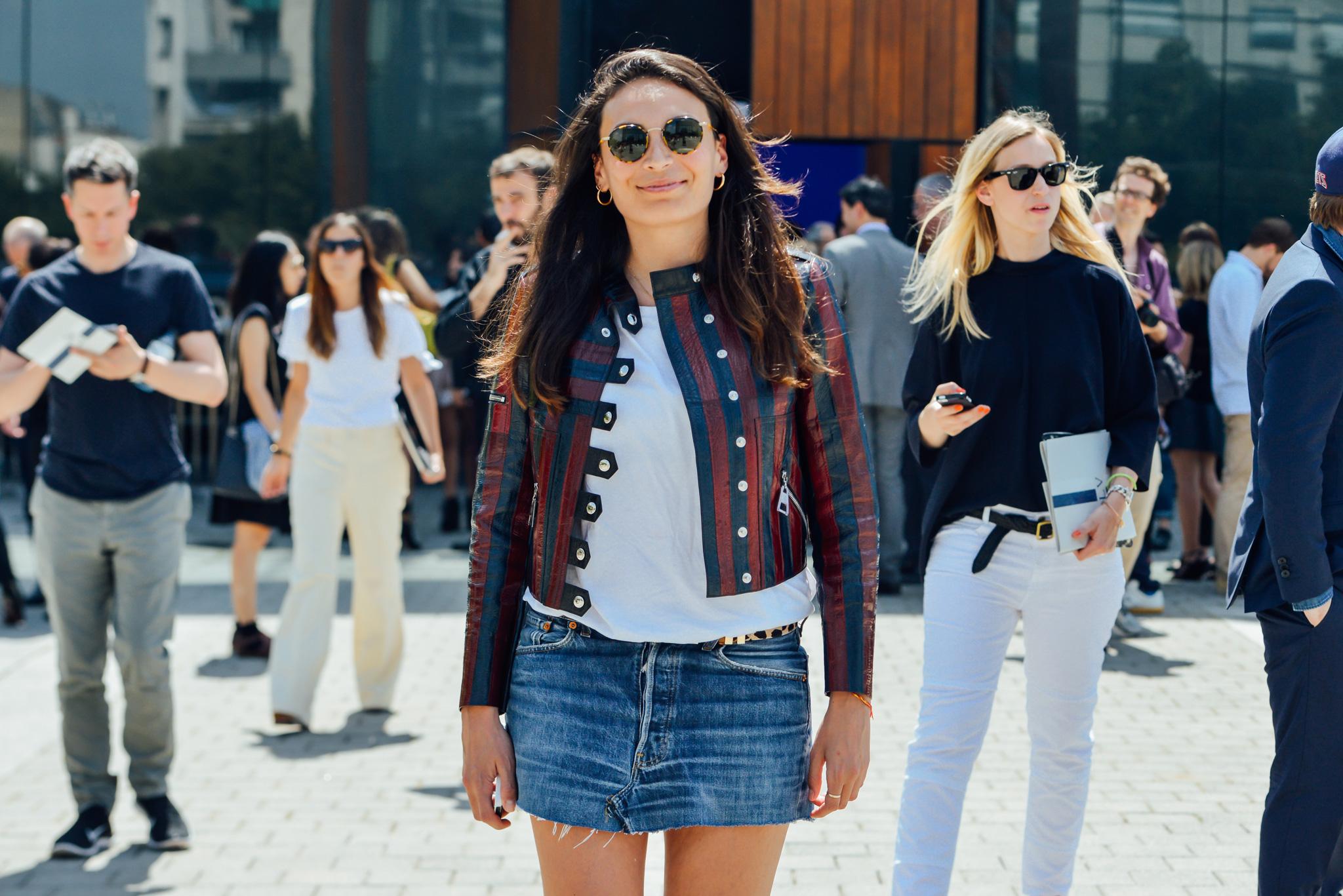 Street Style - Semana de moda masculina Verão 2016 imagem: Tommy Ton via style.com