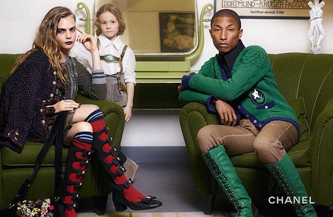 Chanel - Pre-Fall 2015 imagem: divulgação / Karl Lagerfeld