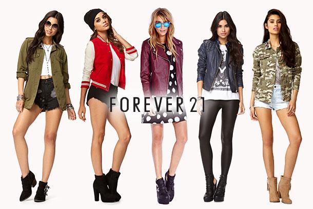 Forever 21 inaugura seu primeiro outlet no Brasil, hoje.