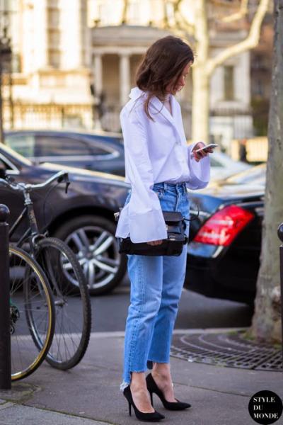 Jeans desfiado imagem: LA cool & Chic