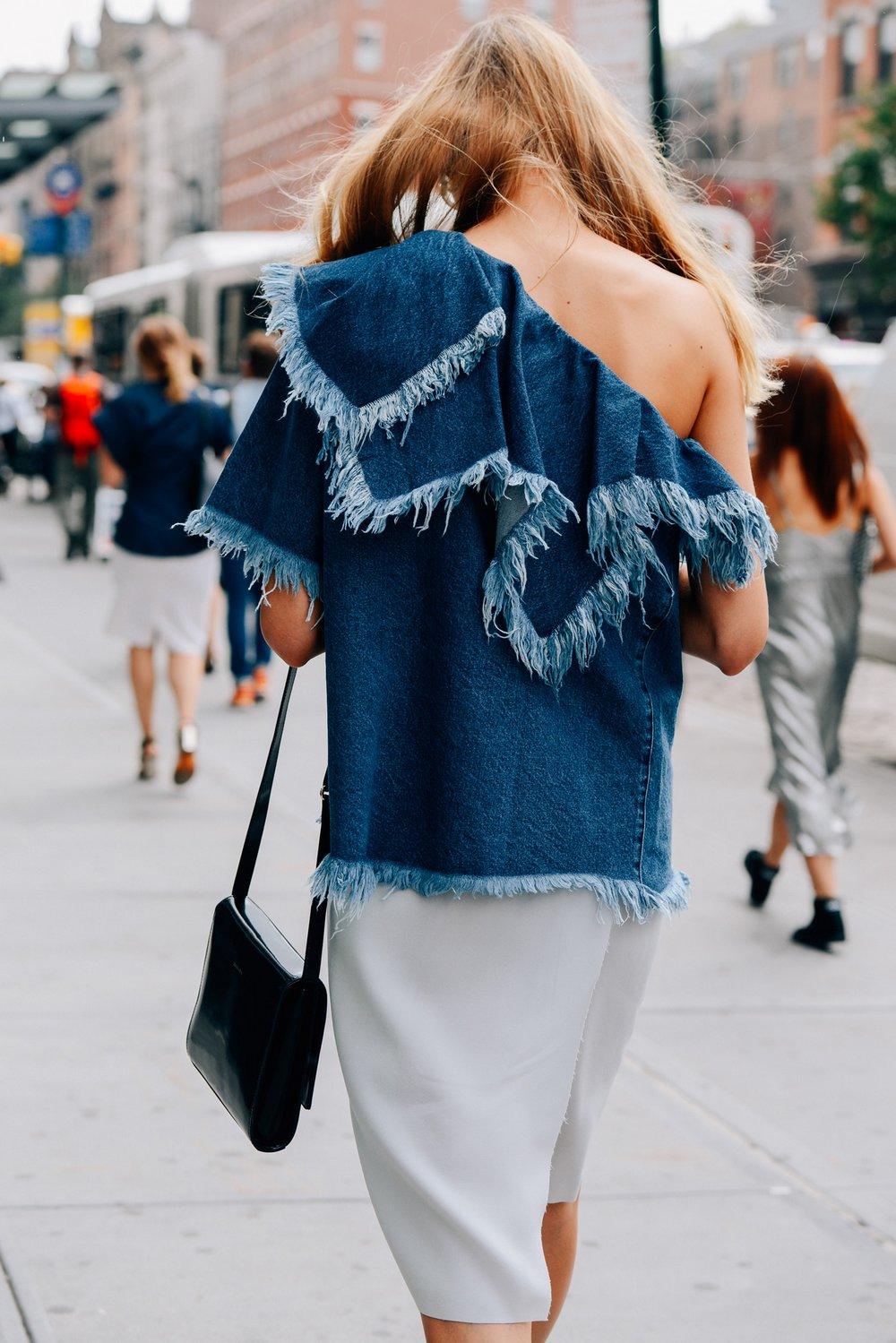 Jeans desfiado imagem: studded Hearts