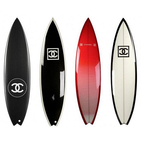 Pranchas de surf Chanel imagem: divulgação