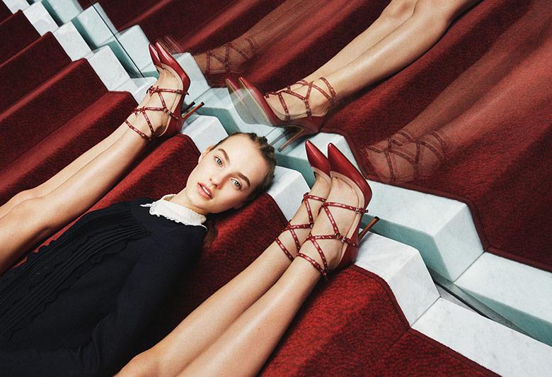 Valentino - campanha pre-fall 2015 imagem: divulgação / Michal Pudelka