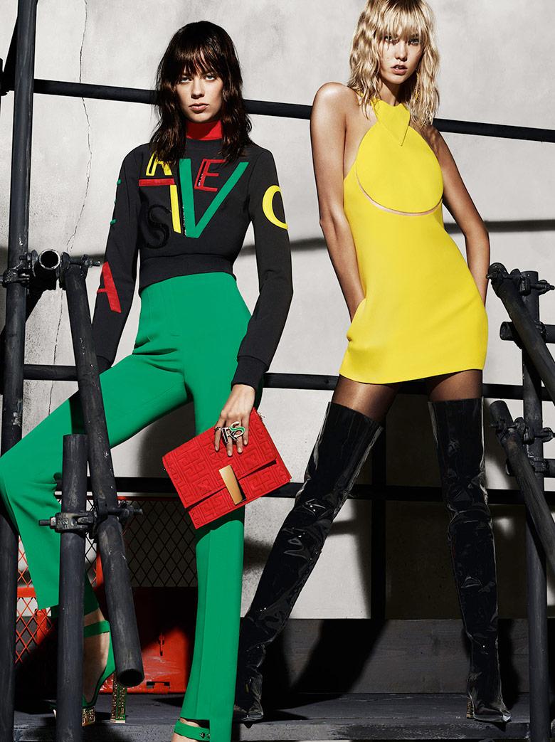 Versace - Campanha Outono-inverno 2015-2016 imagem: divulgação/ Mert & Marcus