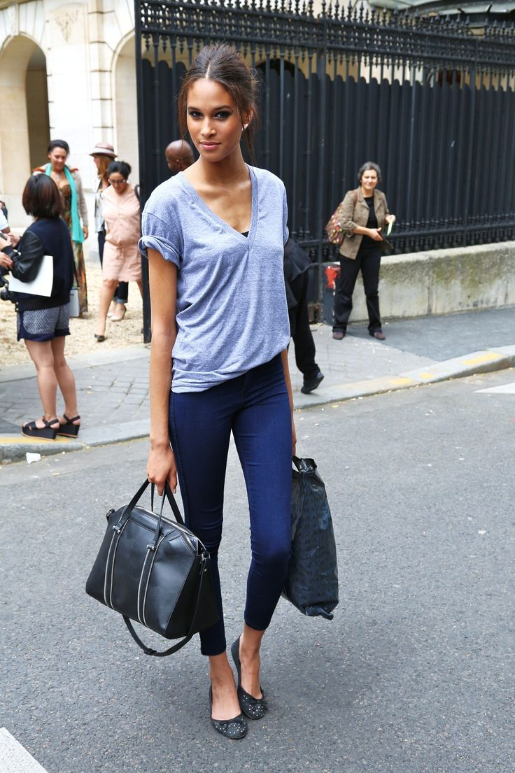 cropped pants - street style imagem: via pinterest