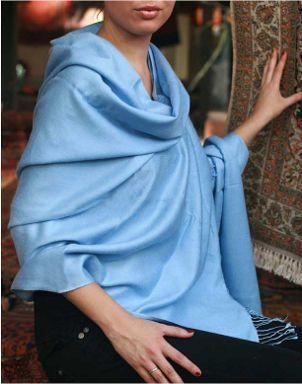 Pashmina - deixa qualquer look muito elegante! imagem: via pinterest