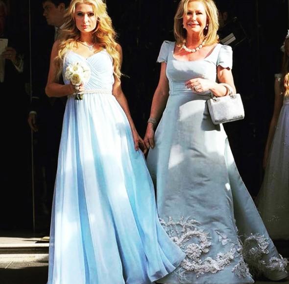 Casamento Nicky Hilton e James Rothschild - Paris Hilton e sua mãe Kathy imagem: instagram