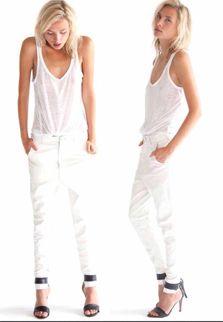 Look total white imagem: via pinterest