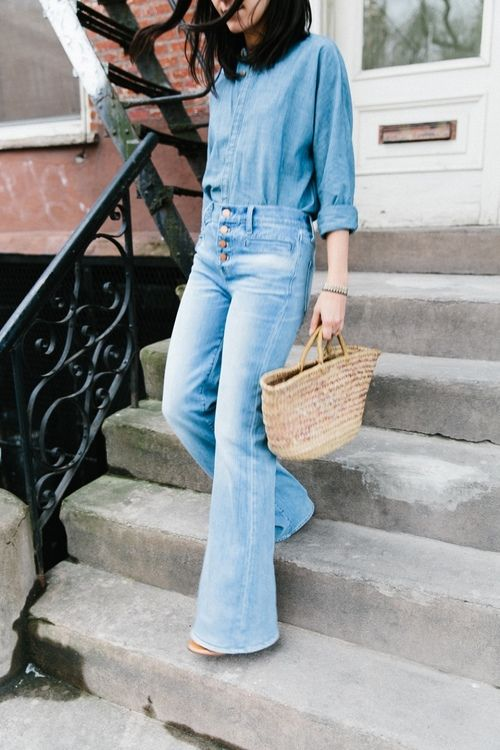 look total jeans imagem: via pinterest
