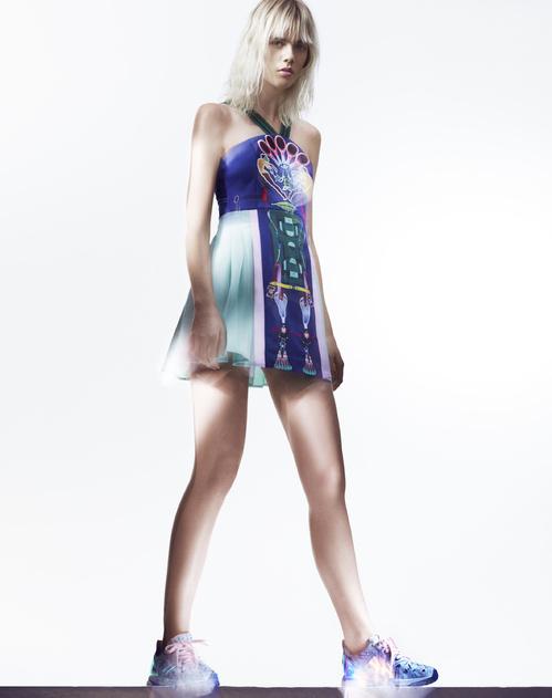 Mary Katrantzou para Adidas Originals  imagem: divulgação