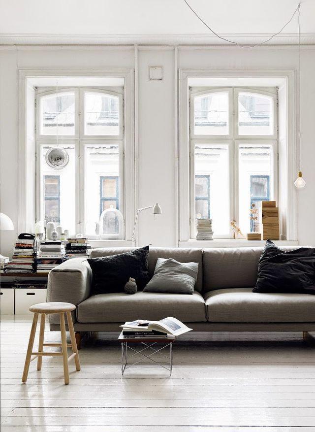 Decoração - ambientes clean  imagem: via pinterest