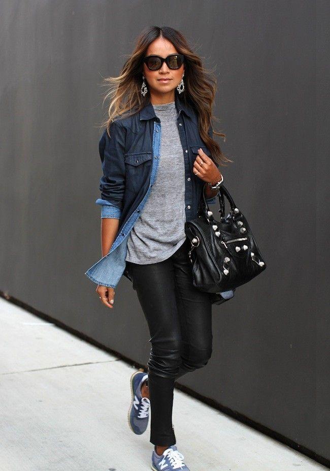 street style - básicos + acessórios - look perfeito! imagem: pinterest