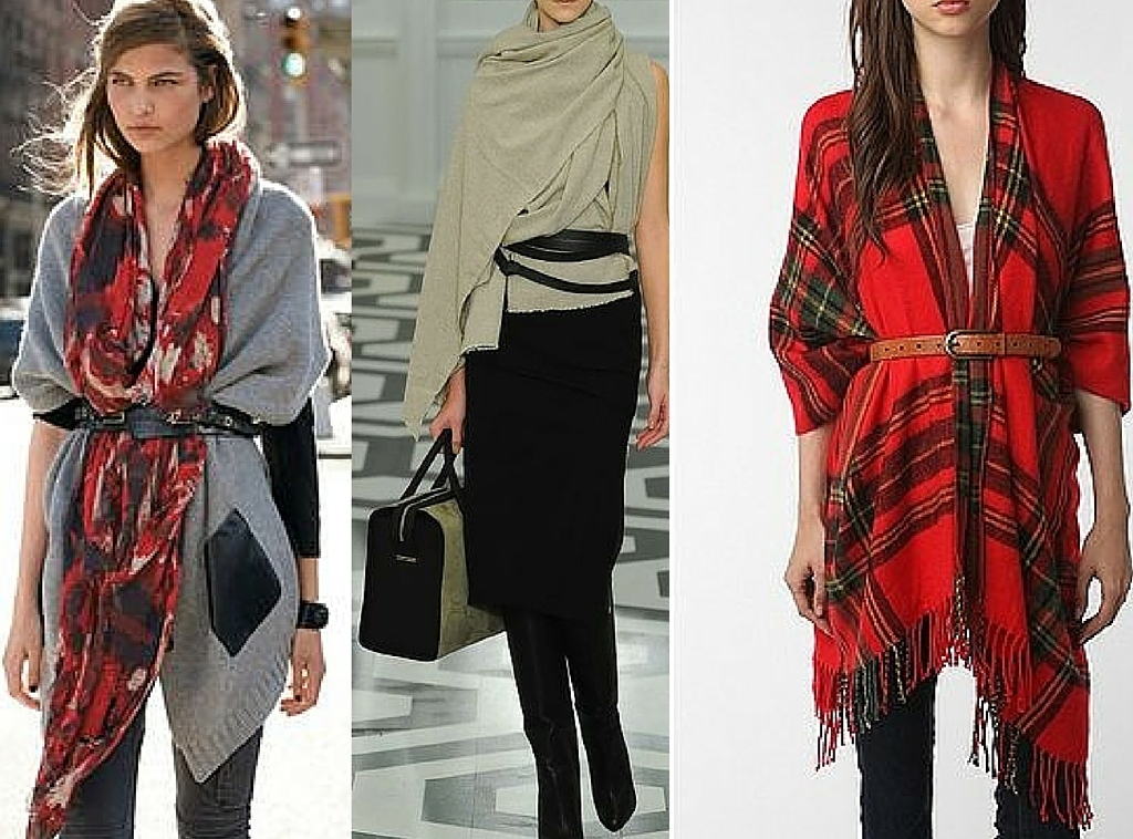 Echarpes, lenços e xales imagem: via pinterest
