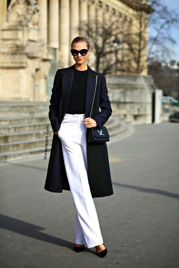 Calça Branca imagem: via instagram