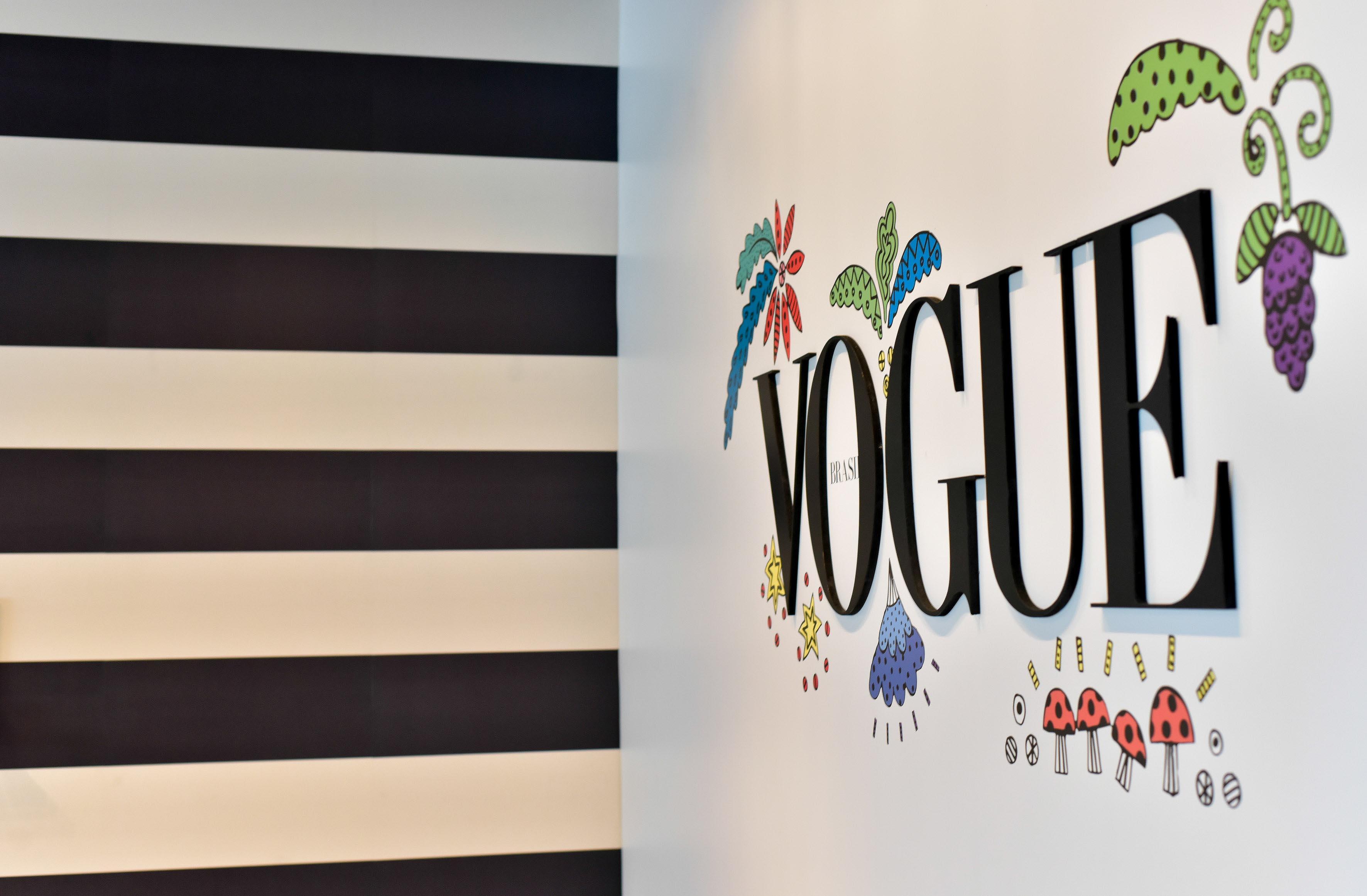 Lounge da Vogue Brasil no SPFW Inverno 2016 imagem: divulgação