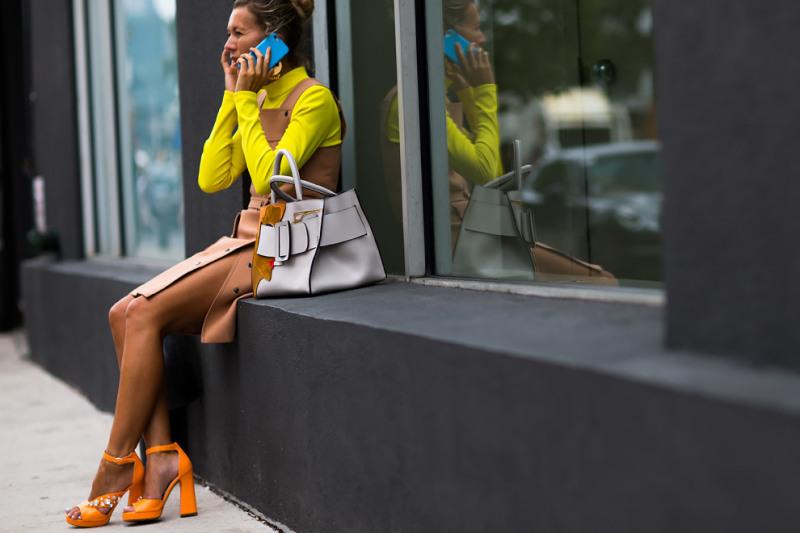 street style - NYFW Verão 2016 foto: Yana Davydova via net