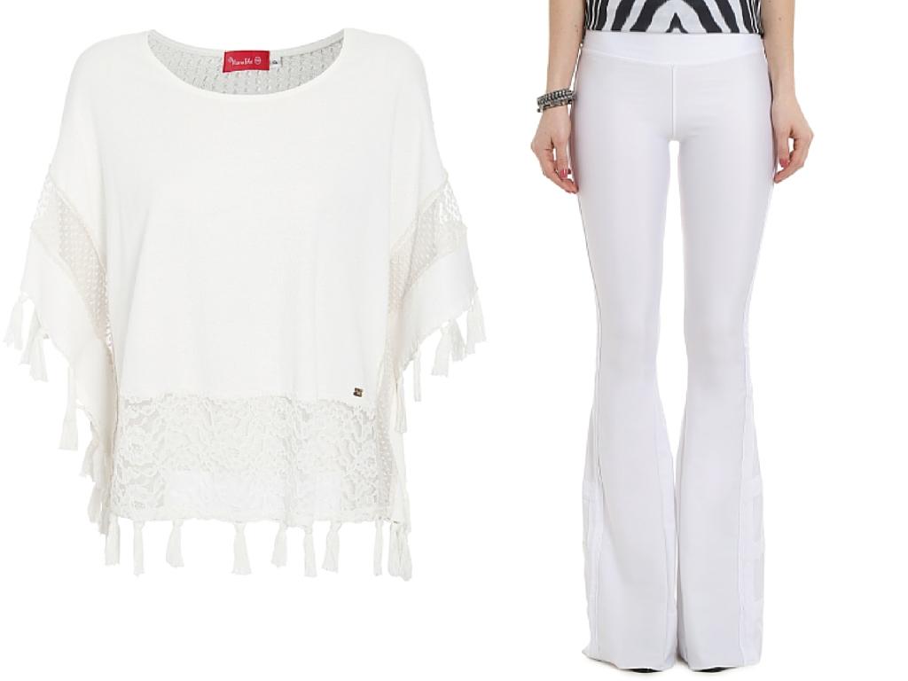 Blusa e calça da coleção Natural Chic - compre aqui