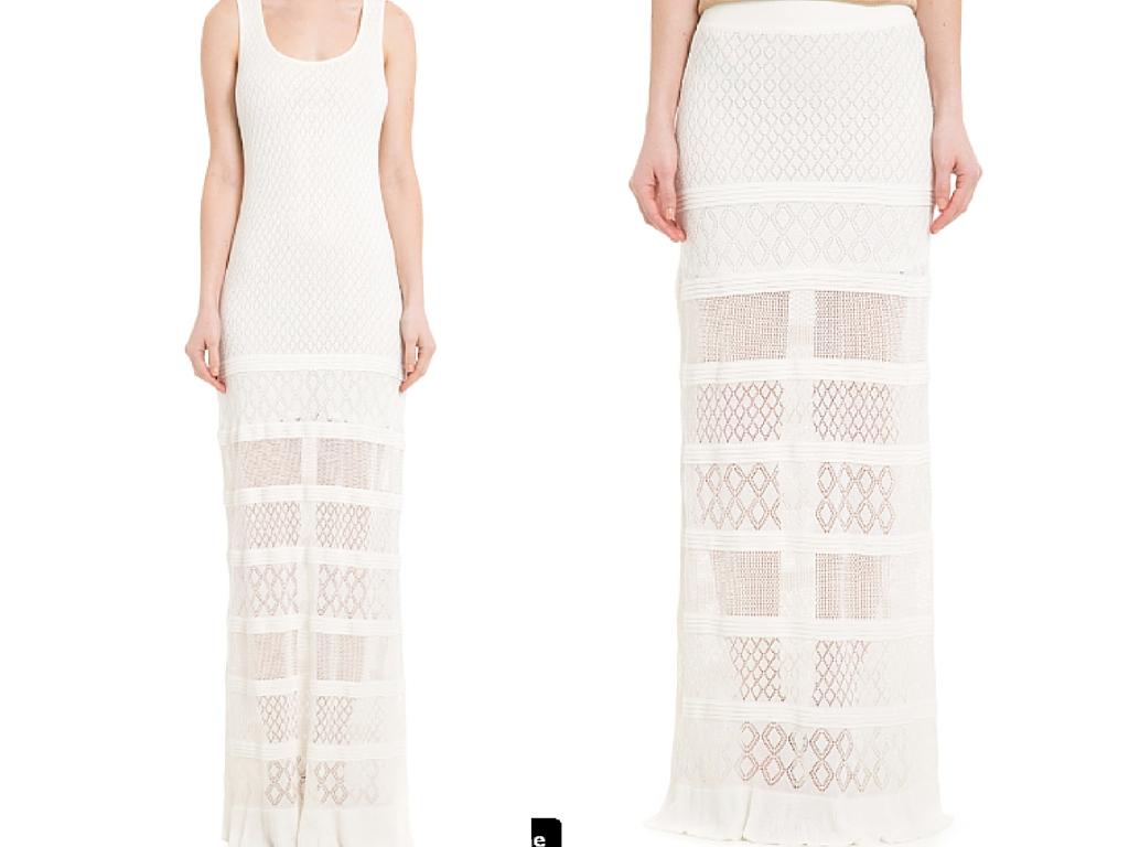 Saia Longa - compre AQUI Vestido longo - compre AQUI imagem: shop2gether
