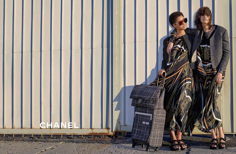 Chanel - campanha Verão 2016 imagem: divulgaçãp/ Karl Lagerfeld
