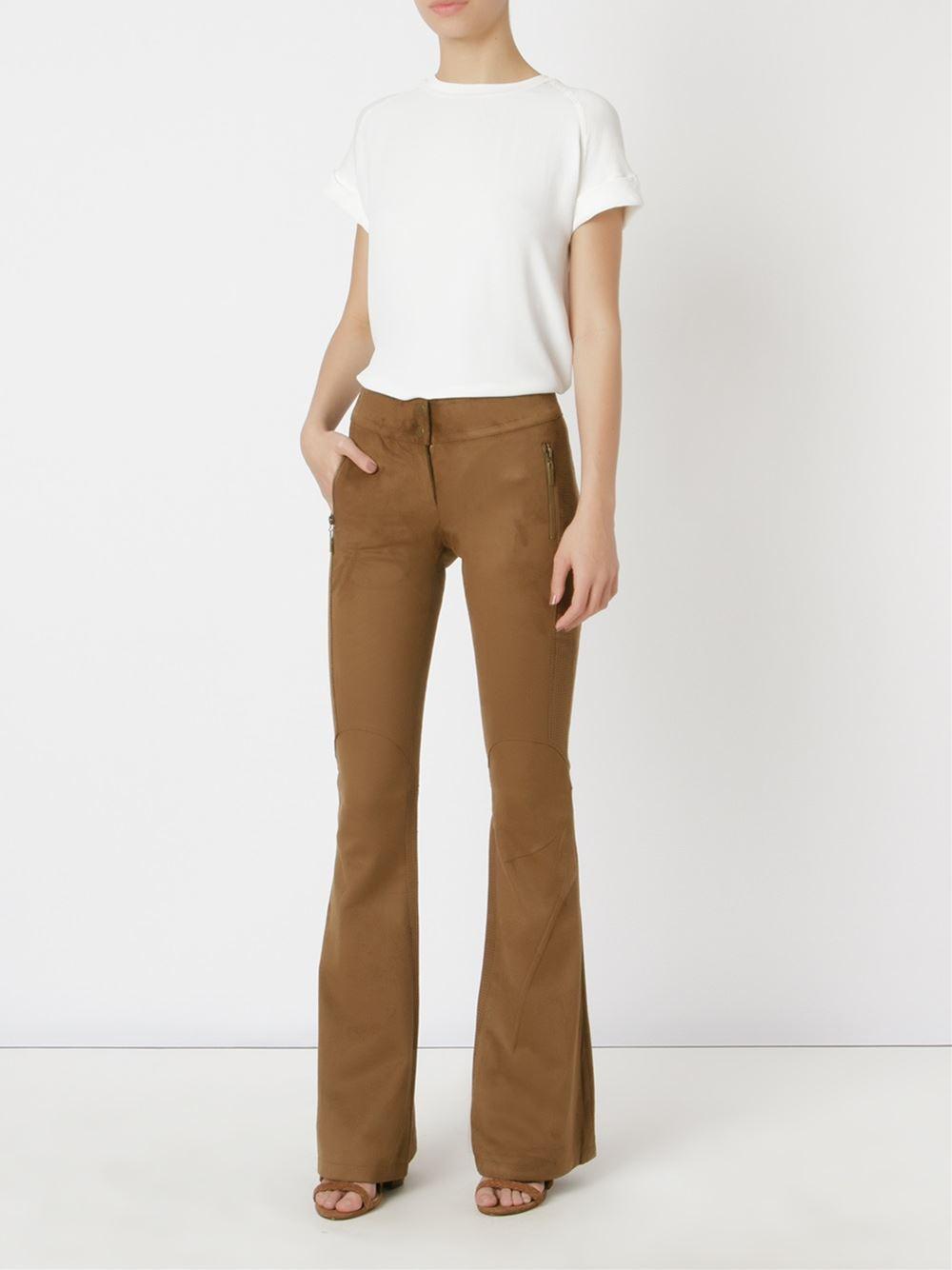 Calça Camurça Le Lis Blanc - compre AQUI imagem: divulgação/ farfetch
