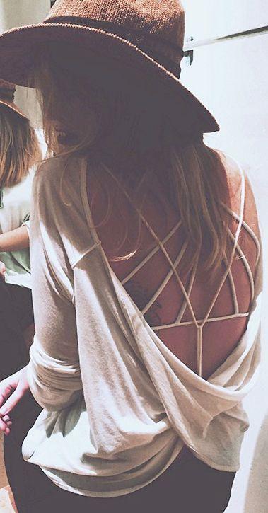 Strappy Bra - imagem Pinterest