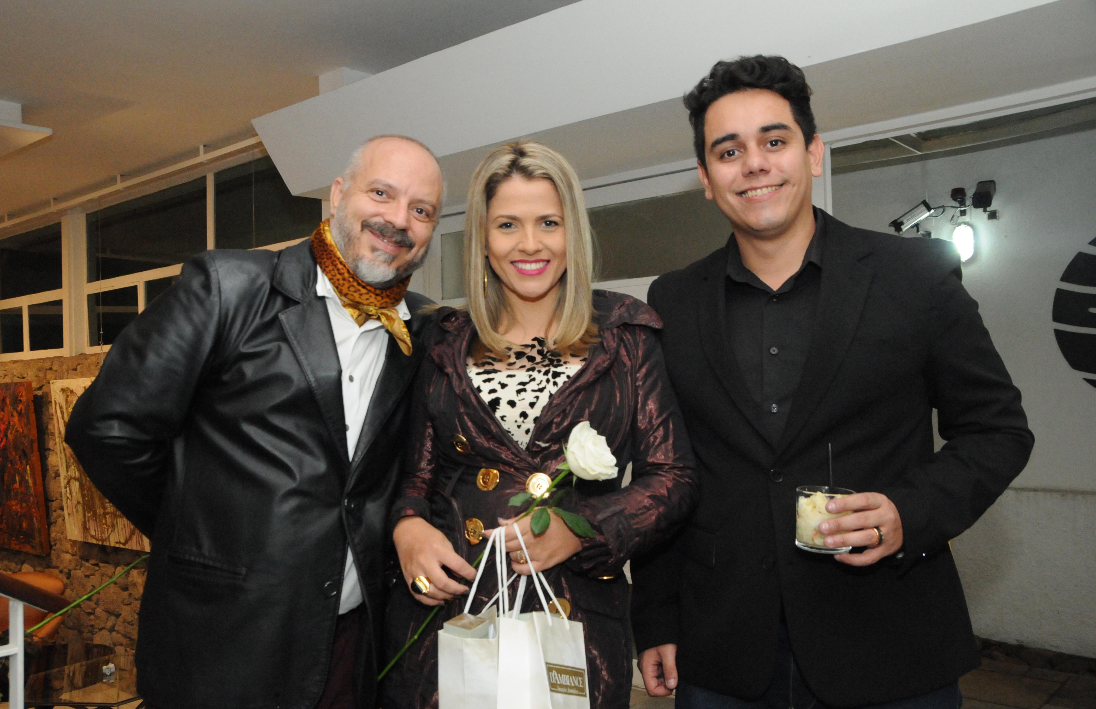 Julio Cesar Dantes, Vanessa silvestre e Vcenzo Bianchini