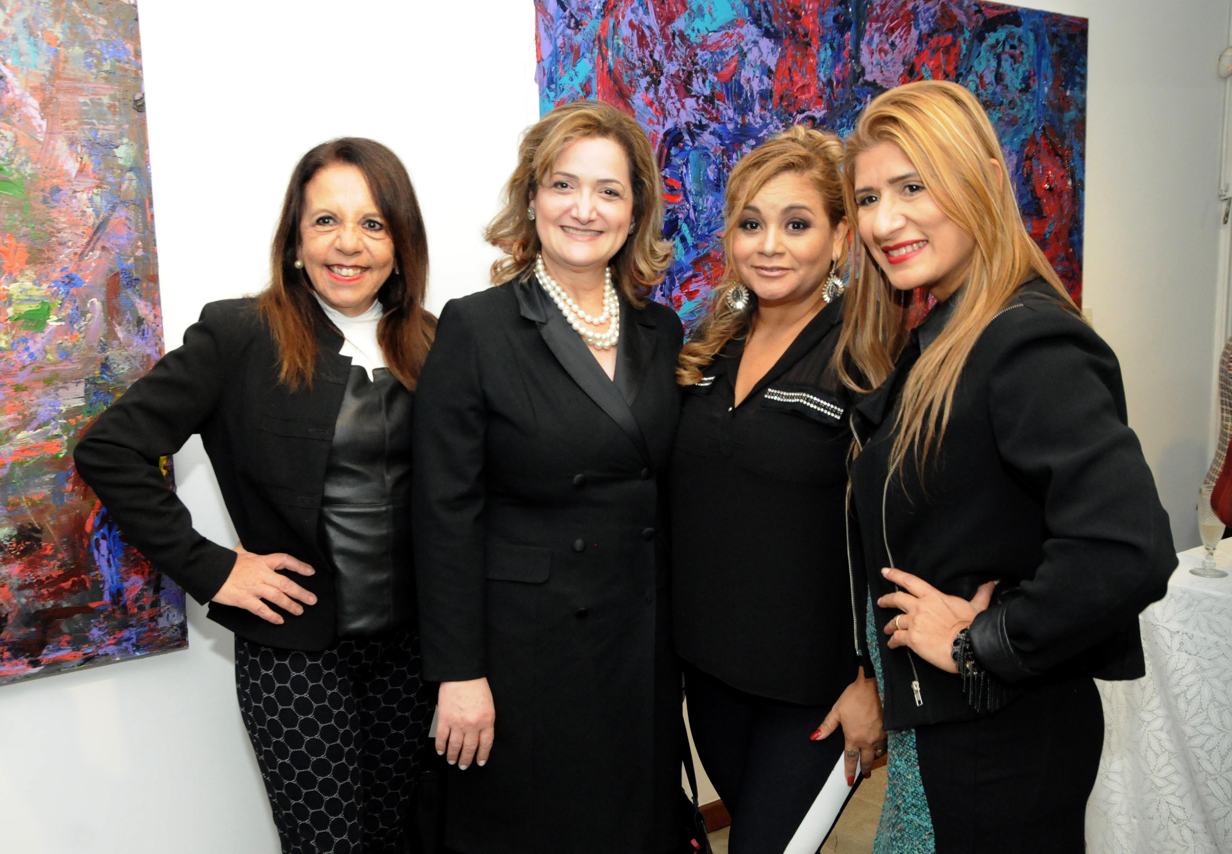 Maria Emilia Genovese, Uiara Zagolin, Lily Bianchini e Jo Ribeiro