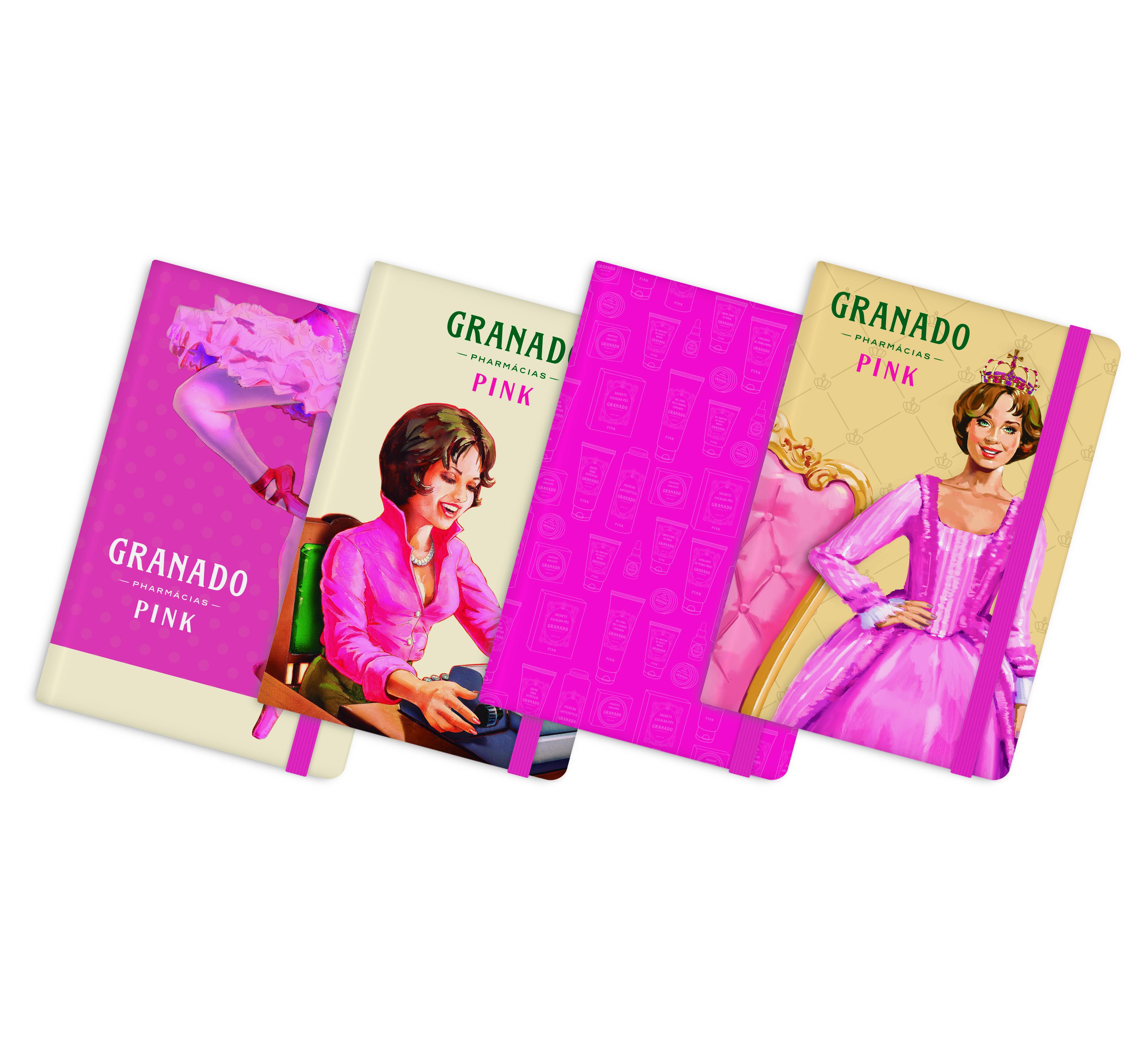 Cadernetas Granado - mimos dos dias das mães