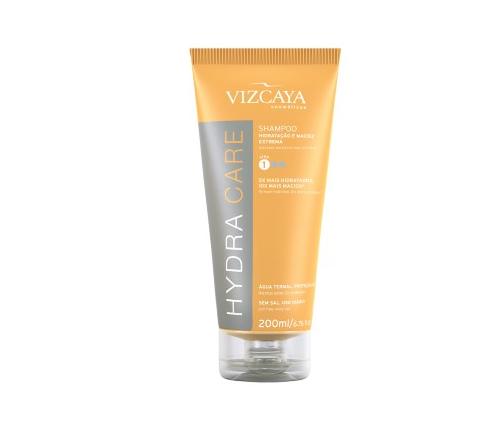 Shampoo Hidratação e Maciez extrema Vyscaya Imagem: divulgação via site Vyscaya