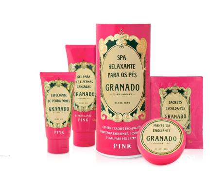Linha pink da Granado - quem não ama?