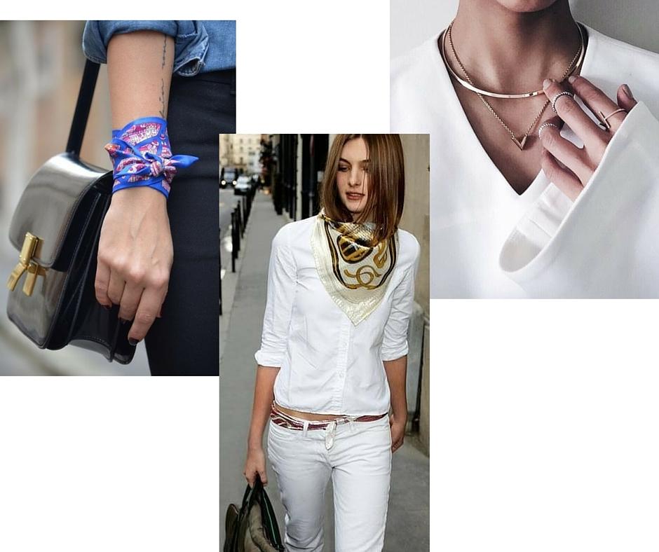Acessórios são os melhores amigos da mulher estilosa imagem: montagem blog - via pinterest